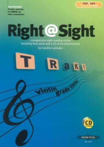 Right@sight: Grade 3:(Right At Sight): Violin
