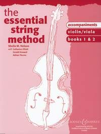 Essential String Method: Book 1& 2: Piano Accompaniment: Upper String