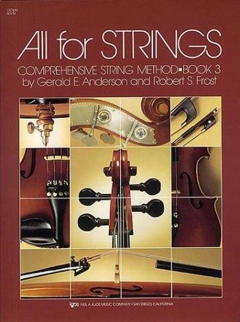 All For Strings: 3: Violin: : Method