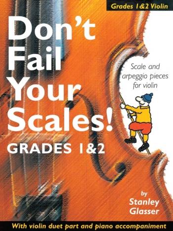 Dont Fail Your Scales: Violin Grades 1-2: Cello