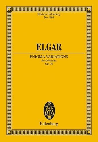 Enigma Variations: Op36: Miniature Score