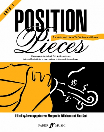 Position Pieces: Book 1: Violin & Piano  (Archive Edtion)