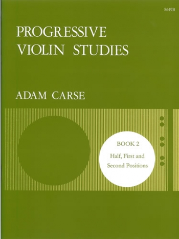 Progressive Studies: Book 2: Violin (Stainer & Bell)