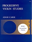Progressive Studies: Book 3: Violin (Stainer & Bell)