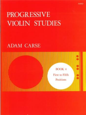 Progressive Studies: Book 4: Violin (Stainer & Bell)