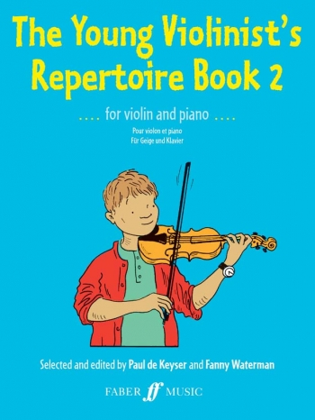Young Violinists Repertoire Book 2: Violin & Piano (Keyser)