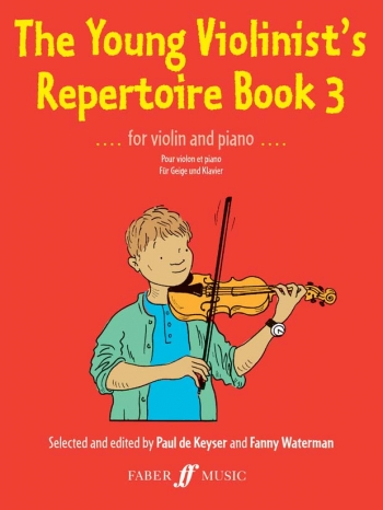 Young Violinists Repertoire Book 3: Violin & Piano (Keyser)