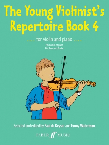 Young Violinists Repertoire Book 4: Violin & Piano (Keyser)