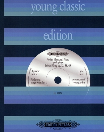 Lyric Pieces: Album: Piano  (Peters)