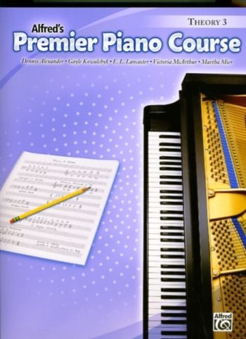Alfred Premier Piano Course 3: Theory