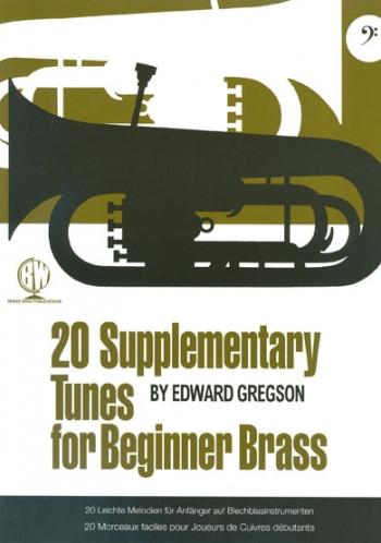 20 Supplementary Tunes Bass Clef For Beginner Brass (Gregson)
