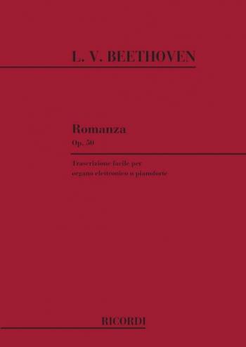 Romance No.2 Fmajor Op.50: Organ