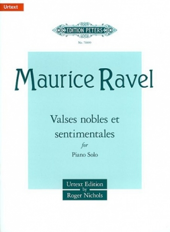 Valses Noble Et Sentimentales: Piano (Peters)