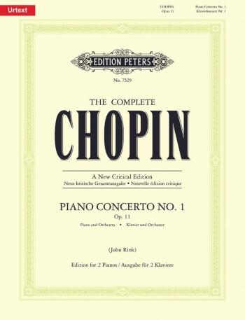 Concerto No.1 E Minor Op11: (New Crirical Edition): Piano  (Peters)
