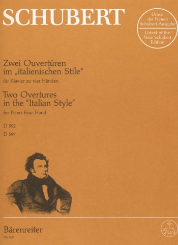 2 Overtures In The Italian Style: Piano Duet