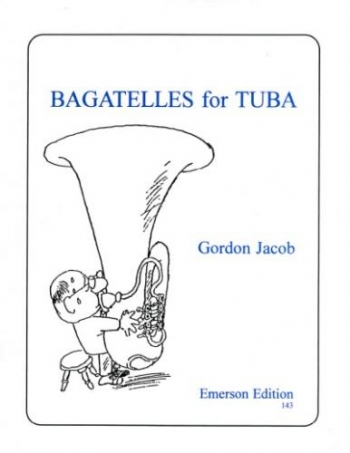 Bagatelles: Tuba and Piano: Bass Clef (Emerson)