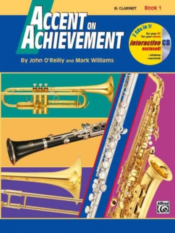 Accent On Achievement: Book 1: Baritone  Bass Clef: Book And CD