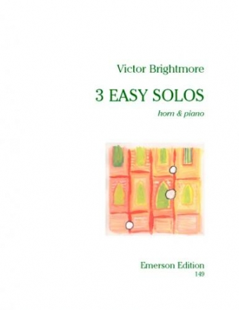 3 Easy Solos French Horn  (Emerson)