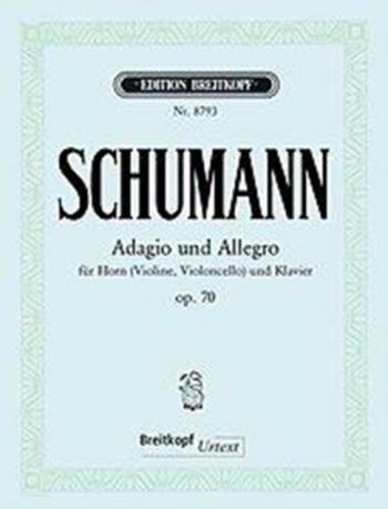 Adagio Und Allegro: Ab: Op 70: French Horn  (Breitkopf)