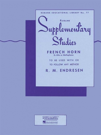 Supplementary Studies: French Or Tenor Horn