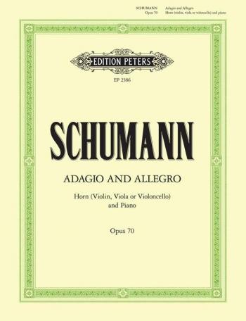 Adagio Und Allegro: Ab: Op70: French Horn  (Peters)
