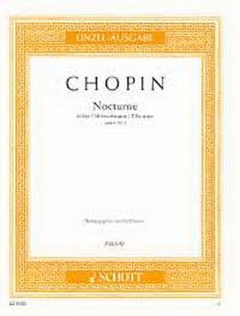 Nocturne Op9/2 Eb Major: Piano (Schott)