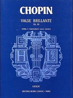 Valse Brilliante Op.18: Piano