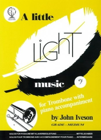 Little Light Music: Trombone Bass Clef & Piano