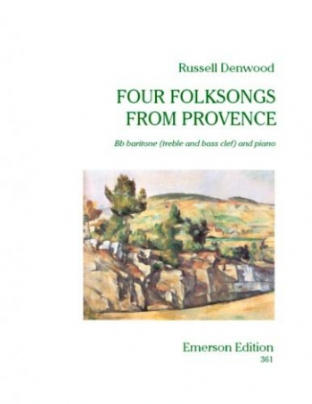 4 Folksongs From Provence: Baritone and Piano: Tc Or Bc (Emerson)