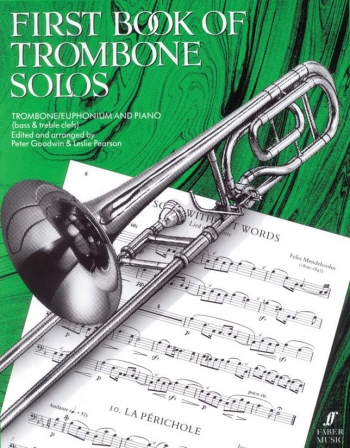 First Book Of Trombone Solos: Trombone and Piano