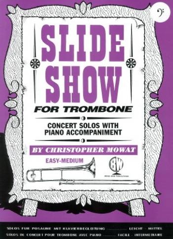 Slide Show Bass Clef: Trombone & Piano (mowat) (Brasswind)