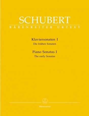 Sonatas: Vol.1: The Early Sonatas: Piano  (Barenreiter)