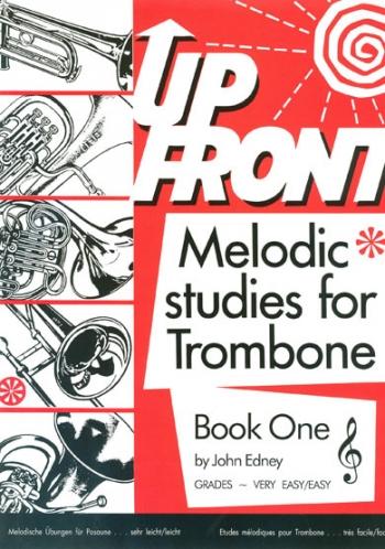 Melodic Studies: Book 1: Trombone Treble Clef (Edney)