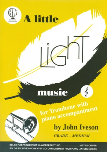 Little Light Music: Trombone Treble Clef & Piano
