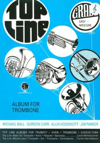 Top Line Treble Clef Trombone: Album