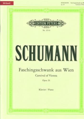 Faschingsschwank Aus Wien: Carnival Of Vienna: Op.26: Piano (Peters)