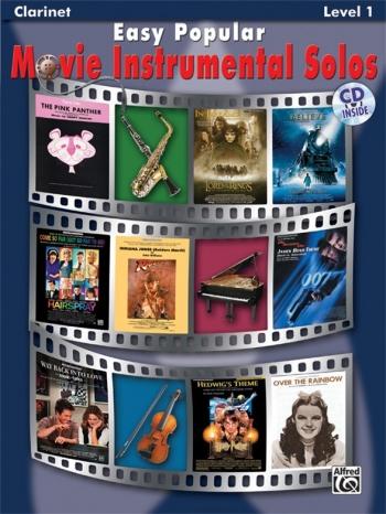 Easy Popular Movie Instrumental Solos  Level 1: Clarinet: Book & CD