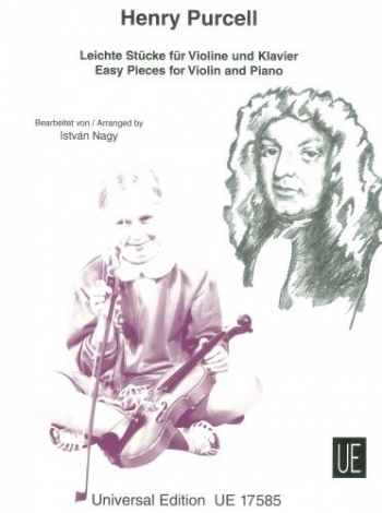 15 Easy Pieces For Violin And Piano