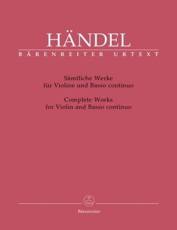 Sonatas: Vol 1: Complete: Violin and Piano (Barenreiter)