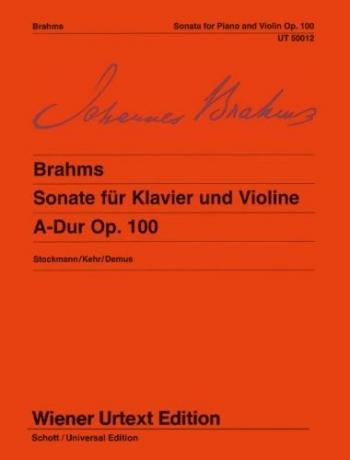 Violin Sonata A Major Op.100: Violin & Piano (Wiener Urtext)