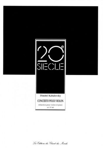 Concerto: C Major: Op48: Violin and Piano
