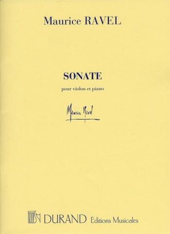 Sonata: Violin and Piano