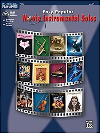 Easy Popular Movie Instrumental Solos: Level 1: Flute: Book & CD