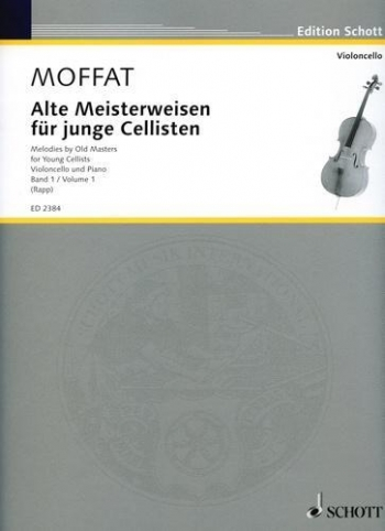 Melodies By Old Masters For Young Cellists: 1