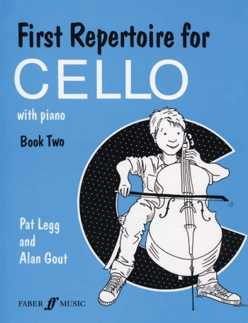 First Repertoire For Cello & Piano: Book 2 (legg & Gout) (Faber)