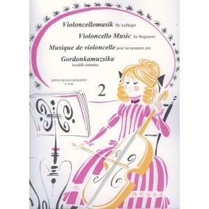 Violoncello Music For Beginners Vol 2: Cello & Piano