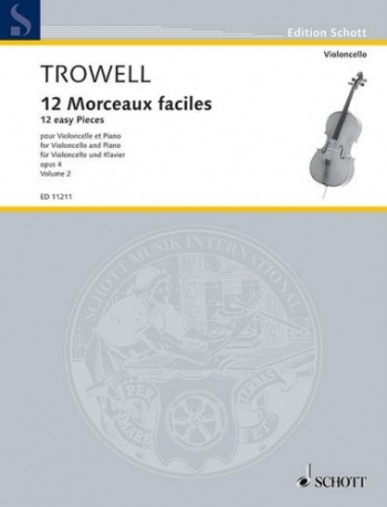 12 Morceaux Faciles Vol.2 Op.4: Cello & Piano (Schott)