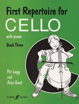First Repertoire For Cello & Piano: Book 3 (legg & Gout) (Faber)