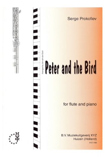 Peter And The Bird: Flute & Piano