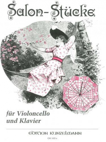 Salonstucke For Cello: Salon Pieces Book 1 Cello & Piano (Peters)